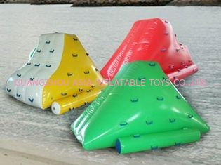 Trung Quốc Colorful Water Floating Iceberg , Inflatable Water Sports for Amusement nhà máy sản xuất