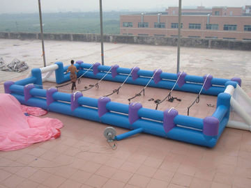 Trung Quốc Safe Giant Soccer Field Inflatable Football Playground Indoor / Inflatable Soccer Field nhà máy sản xuất