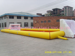 Trung Quốc Adult Large Inflatable Soccer Field / Fun Football Field Artificial Grass nhà máy sản xuất