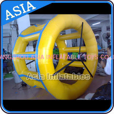 Trung Quốc PVC Tarpaulin Inflatable Yellow Water Roller for Kids Pool Water Games nhà máy sản xuất