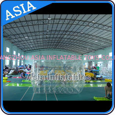 Trung Quốc Swimming Pool / Park Transparent Inflatable Water Roller Ball nhà máy sản xuất