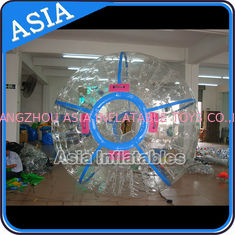 Trung Quốc Ce Certificated Transparent Inflatable Zorb Ball In Clear With Color Stirps nhà máy sản xuất