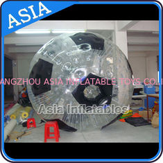 Trung Quốc Football Shape Inflatable Zorb Ball , Zorbing Ball Used On The Sea nhà máy sản xuất