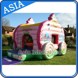 Trung Quốc Inflatable Royal Carriage Moonwalk Bouncer For Children Party Hire Games nhà máy sản xuất