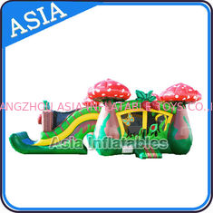 Trung Quốc Inflatable Strawberry Bouncer And Slide Combo Games For Children nhà máy sản xuất