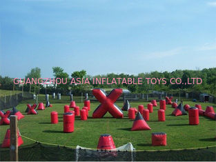 Trung Quốc Inflatable Paintball Bunker for paintball Field Equipment nhà máy sản xuất