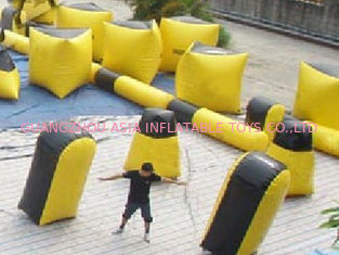 Trung Quốc Inflatable paintball bunker blindage with durable vavles nhà máy sản xuất