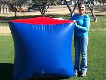 Trung Quốc Inflatable Paintball Bunker BUN26 with Flexible and Durable Anchor Strings nhà máy sản xuất