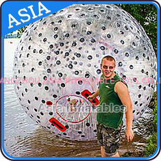 Trung Quốc Water Games Used Pvc Inflatable Zorb With Color Dots For Children nhà máy sản xuất