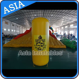Trung Quốc Inflatable Buoys , Cylinder Shape For Water Triathlons Advertising nhà máy sản xuất