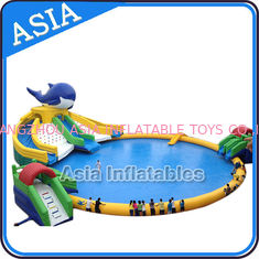Inflatable Commercial Water Park , Giant Inflatable Water Park Games