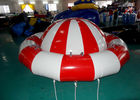 8 - 10 Person Inflatable Disco Boat Motorized Toys Semi Boat , Water Spinner Gyro nhà cung cấp