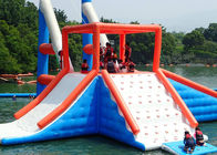 0.6 - 0.9mm PVC Inflatable Floating Water Park With Printing Logo nhà cung cấp