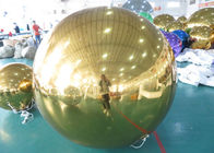 Inflatable Huge Bule Mirror Ball Advertising Inflatable Product Large Mirror Balloon nhà cung cấp