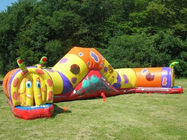 Inflatable Cartoon Tunnel For Children Amusement Park Games nhà cung cấp