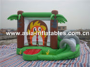 super hero mini indoor combo inflatable bouncer combo nhà cung cấp