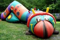 Inflatable bugsy the caterpillar tunnel maze for children games nhà cung cấp