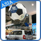 Advertising Helium Balloon And Blimps Soccer , Sphere Flying Paint Shape Ball nhà cung cấp