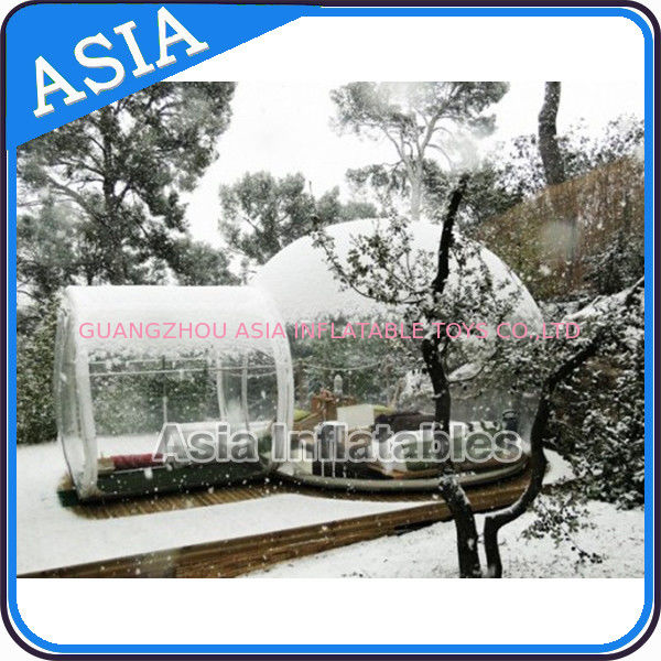 Waterproof Inflatable Snow Globe For Advertisement With Fake Snow nhà cung cấp