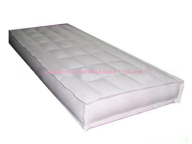 White Color Single Sleep Comfortable Foldable Inflatable Air Matress Bed nhà cung cấp