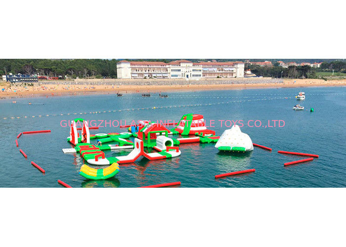 Customized Kids Giant Inflatable Water Park for Sea / Lake / Ocean nhà cung cấp
