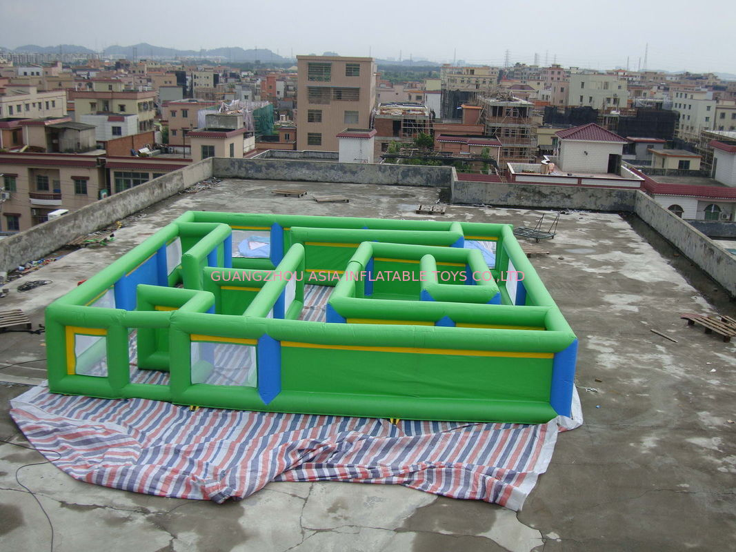 Commercial Grade Inflatable Maze Games For Children And Adults nhà cung cấp