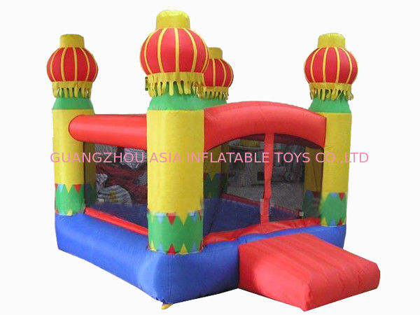 Inflatable Amusement Park Mini Bouncer With Four Lanterns , New Design nhà cung cấp
