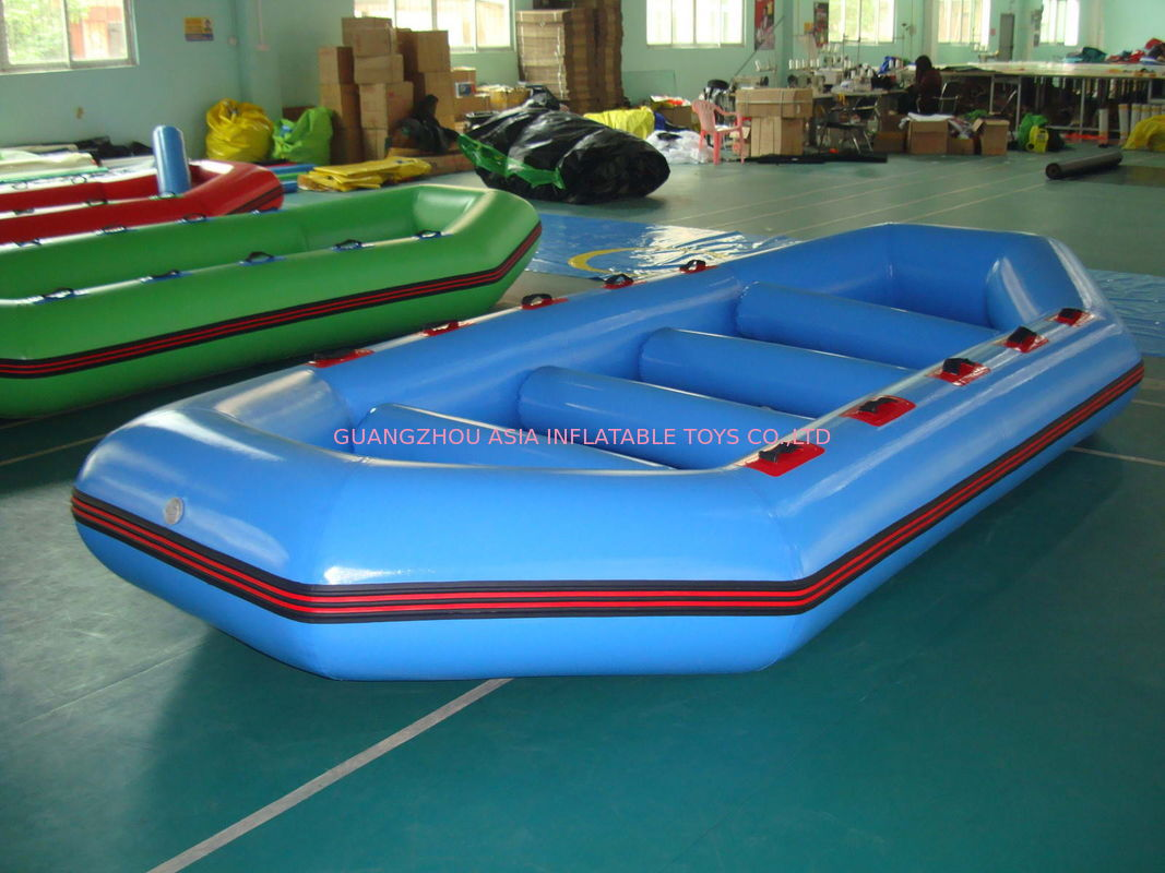 3.2m Long PVC tarpaulin Blue Color Inflatable Boat for 8 Persons nhà cung cấp