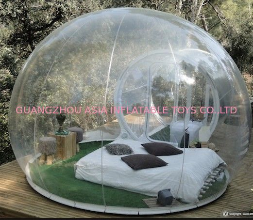Clear Inflatable Outdoor Bubble Tent nhà cung cấp
