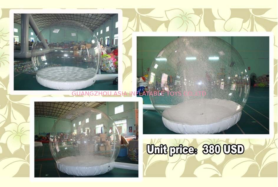 Customize EN71 Inflatable Snow Globe with Snow Machine nhà cung cấp