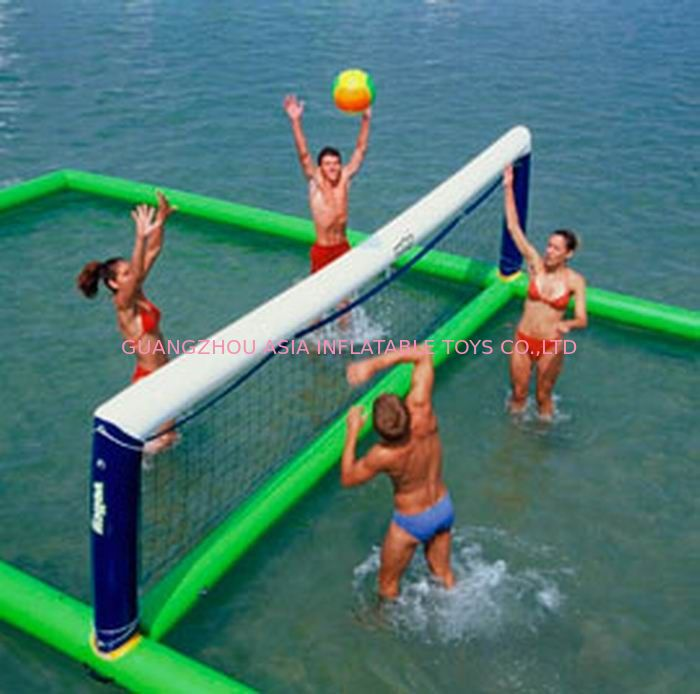 Inflatable aqua park Sports, Inflatable Water Volleyball field nhà cung cấp