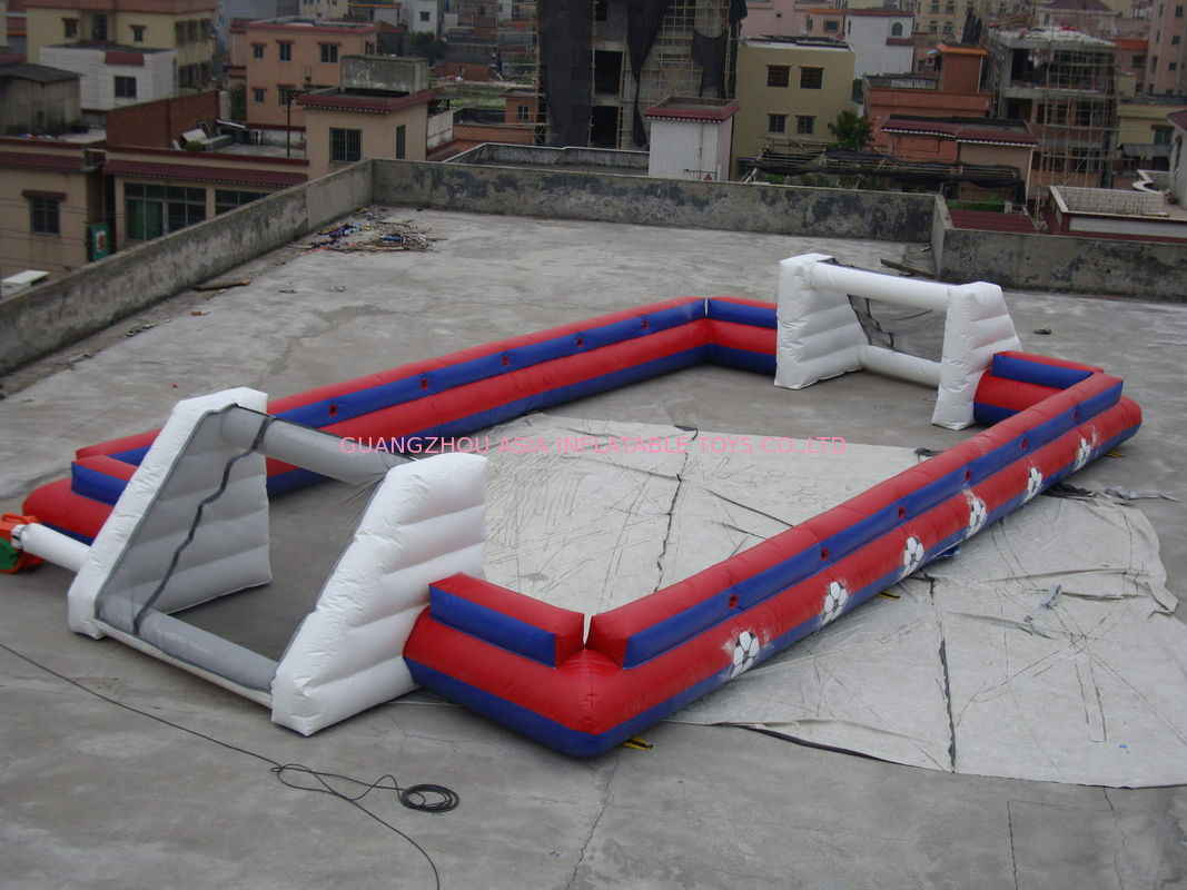 China Supplier Inflatable Sports Football Pitch Without Floor Sheet , Inflatable Soccer Field nhà cung cấp