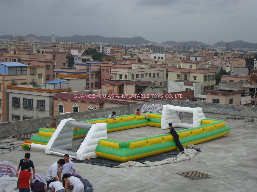 Newest And Hottest Inflatable Football Sport Field For Rental , Inflatable Soccer Field nhà cung cấp
