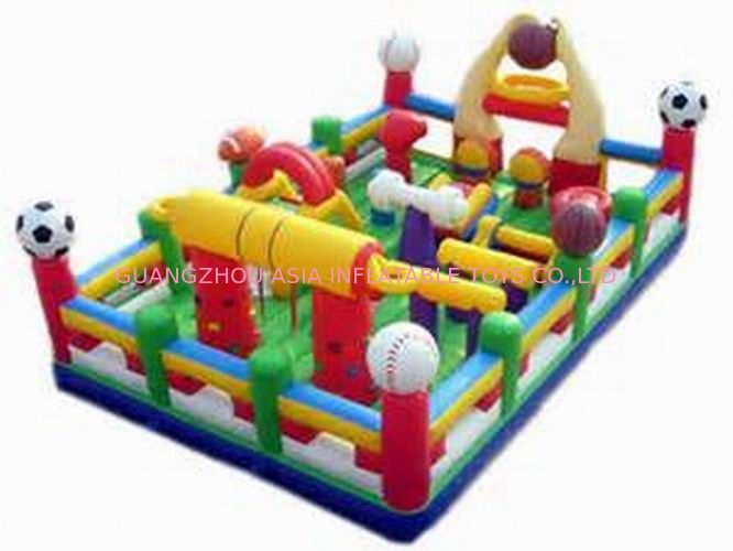 Hot Sale Inflatable Sports Funland / Inflatable Children Funcity nhà cung cấp