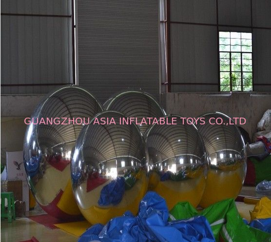 Wholesale Price PVC Double Layer Inflatable Mirror Ball For KTV Decoration nhà cung cấp