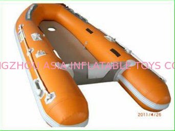 Custom Inflatable Sports Boat 2 Main Chambers On Hull for Extra Security nhà cung cấp