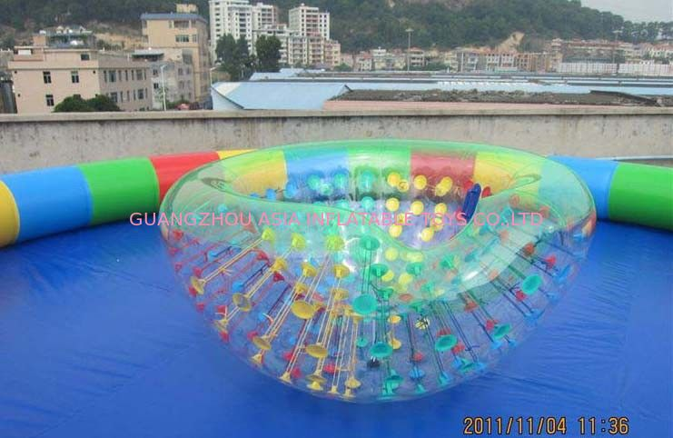 Coco Half Ball / Half Zorb / Floating ball / Inflatable Beach Cocoon for Kids Inflatable Pool nhà cung cấp