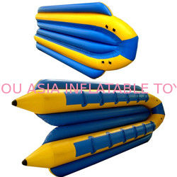 Commercial Island Hopper Double Tubes Banana Boat Taxi 12 Passengers for sale nhà cung cấp