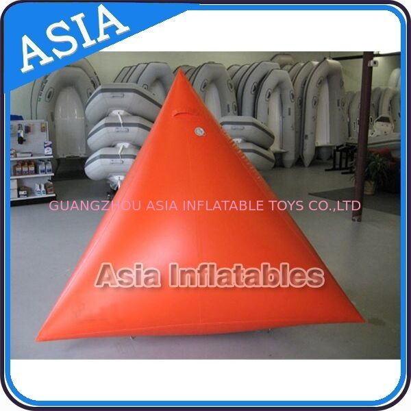 Orange Color Commercial Use  Inflatable Buoy For Water Park Paintball Bunker nhà cung cấp