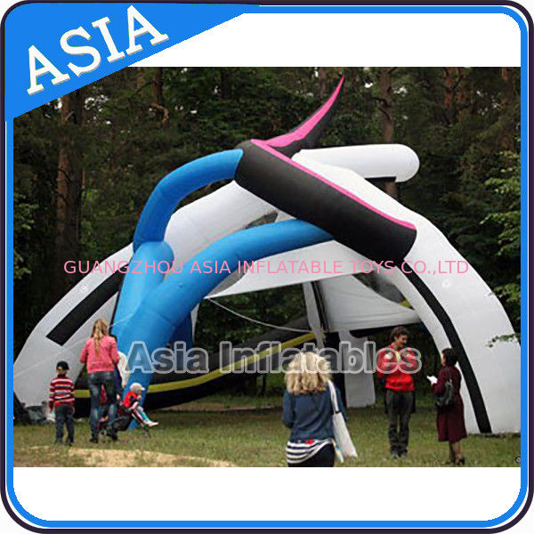 Large Outdoor Portable Inflatable Tent Projection Air Dome Tent Price For Sale nhà cung cấp